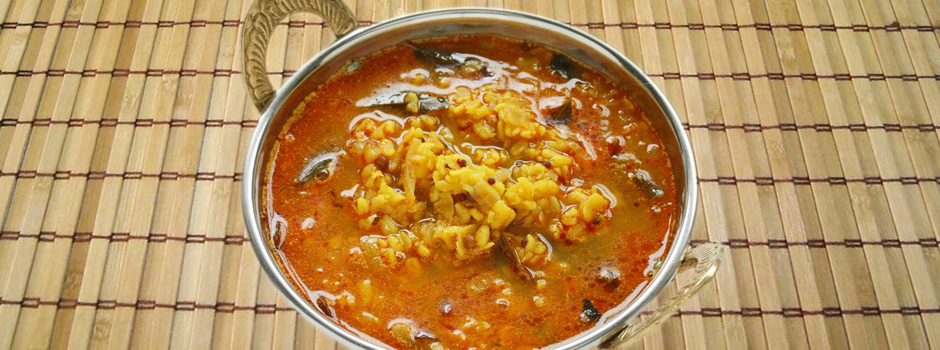 yellow mung dal curry