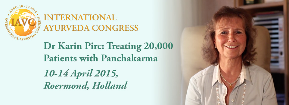 International Ayurveda Congress talk by Dr Karin Pirc