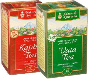 Kapha Tea and Vata Tea