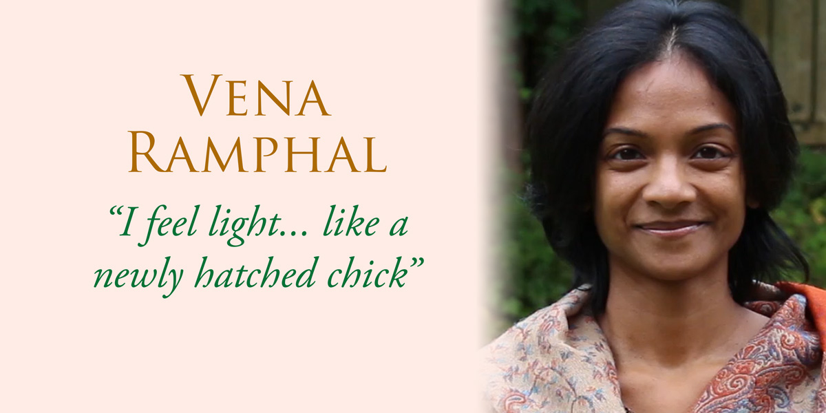 Quote from Vena Ramphal about her Maharishi AyurVeda treatment