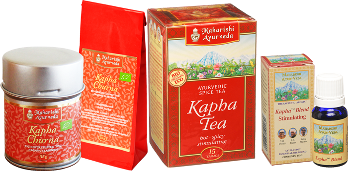 Kapha Churna, Tea and Oil