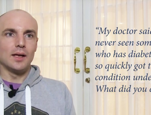 David claims Ayurveda helped control his Diabetes symptoms