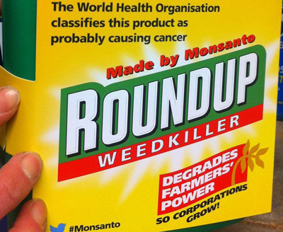 Roundup damage label