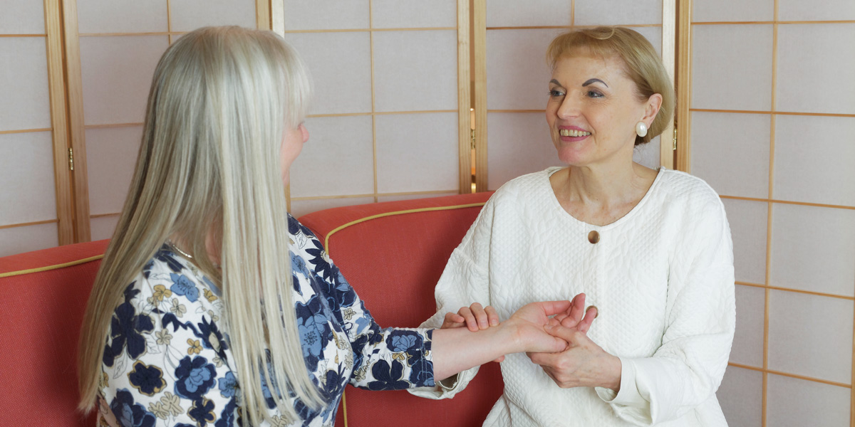 Dr Charlotte Bech shares the secrets of stress-free living