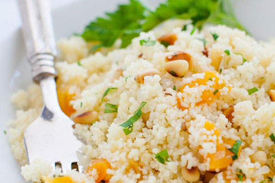Minty Almond Couscous or Quinoa