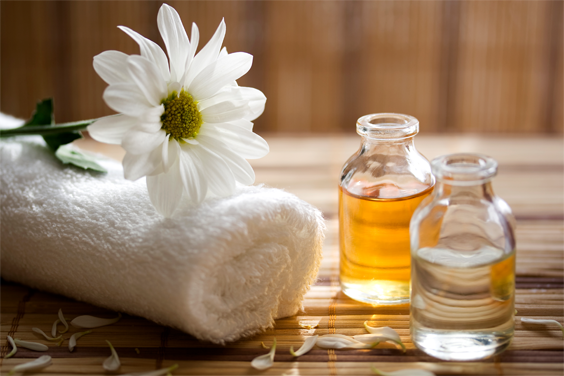 Self-Massage with Warm Oil