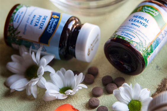 Maharishi AyurVeda offers a range of detoxification products.