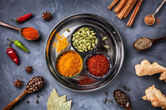 Home spice selection