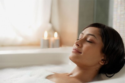 By harnessing all the senses, bath time can be used to heal body, mind and spirit.