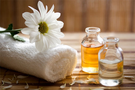 bhyanga, the age-old Ayurvedic practice of self-massage with warm oil