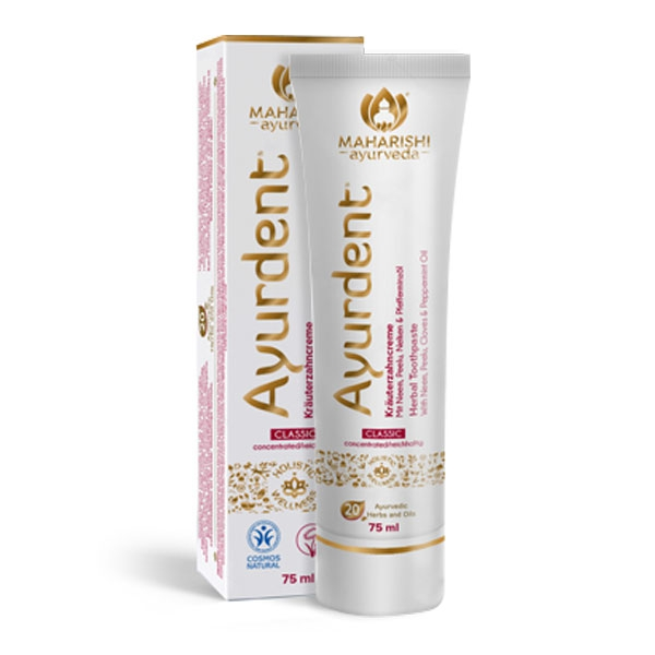 Ayurdent Classic toothpaste (75ml Tube)