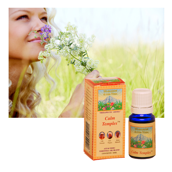 Calm Temples Aroma Oil