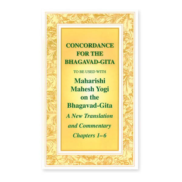 Concordance for the Bhagavad Gita