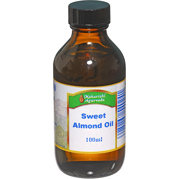 Sweet Almond Oil - Organic Cold Pressed 100ml