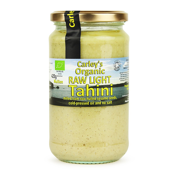 Organic Raw Light Tahini 425g (Carley's)