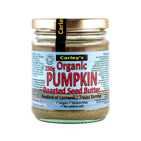 Organic Roasted Pumpkinseed Butter 250g (Carley's)