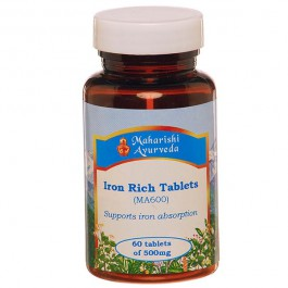 Iron Rich tablets (MA600)