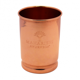Copper Cup - engraved - front view