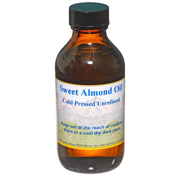 Sweet Almond Oil Cold Pressed 100ml