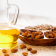 Amlond oil and almonds