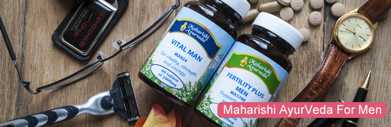 Maharishi AyurVeda has a number of supplements that are particularly helpful for the male physiology