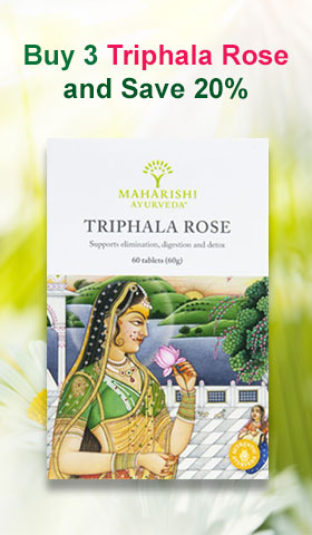 Special Offer - Buy 3 Triphala Rose and Save 20%