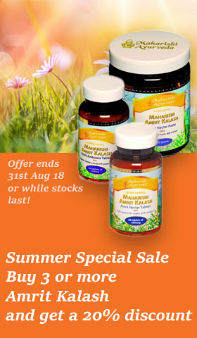 Summer Special Offer - Buy any 3 Amrit Kalash and Save 20%