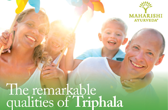 Download the remarkable qualities of Triphala 12 page Leaflet