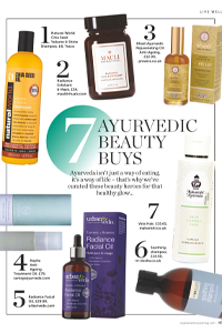 Seven Ayurvedic beauty buys