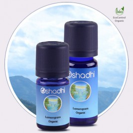 Lemongrass Organic (Oshadhi) 10ml