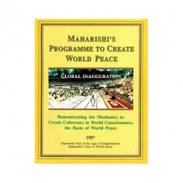 Maharishi's Programme to Create World Peace 1987