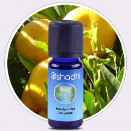 Mandarin Red (Tangerine) Essential Oil (Oshadhi) 10ml