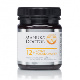 250g 12+ Active Manuka Honey