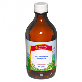 MP2 White Sandalwood Massage Oil