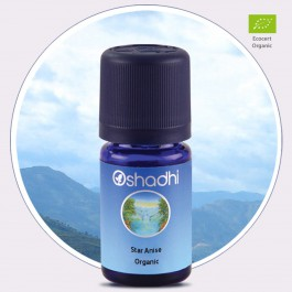 Star Anise Organic Essential Oil (Oshadhi) * 5ml