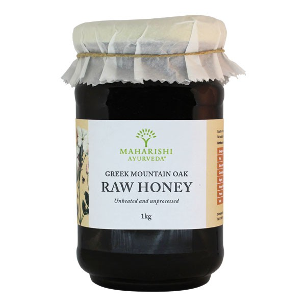 Artisan Raw Greek Mountain Oak Honey 1Kg
