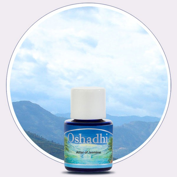 Attar of Jasmine (Oshadhi) 5ml