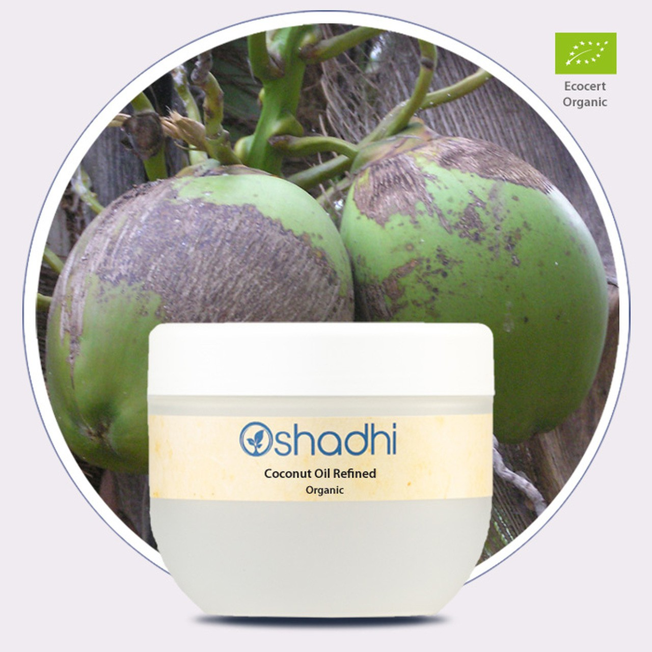 Coconut Oil Organic (Oshadhi) 250ml