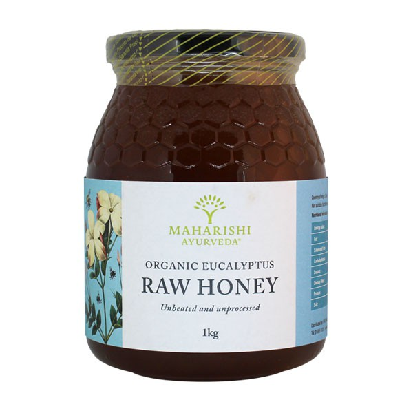 Organic Raw Eucalyptus Honey 1kg