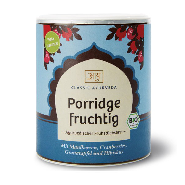 Organic Fruity Porridge (Pitta)