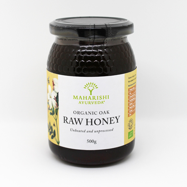 Raw Organic Oak Honey 500g