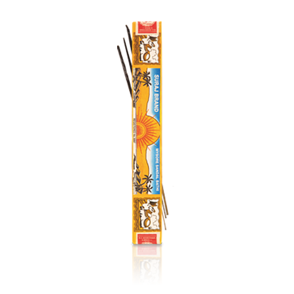 Suraj Mysore Sandal Incense single box