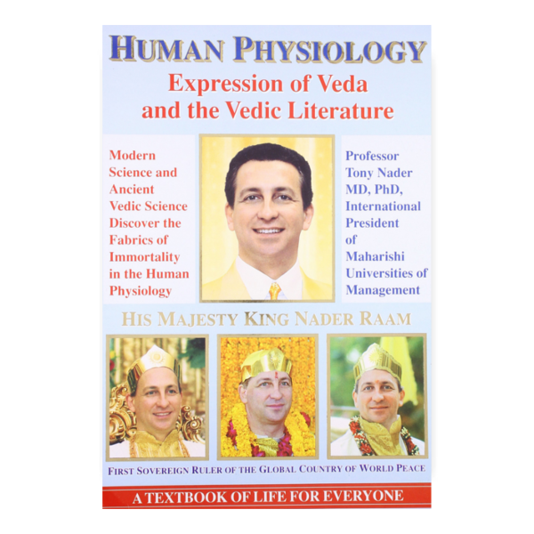 Veda in the Human Physiology - softcover