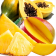 Mango, Pineapple and Papaya Fruits