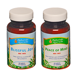 Blissful Joy (MA1402) and Peace of Mind (MA1401)