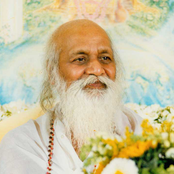 Maharishi Mahesh Yogi, the founder of Transcendental Meditation