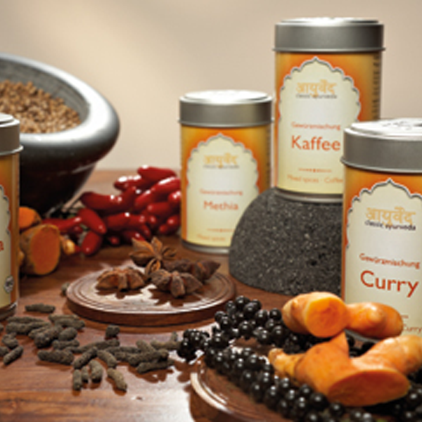 Spice mixes from Amla Natur