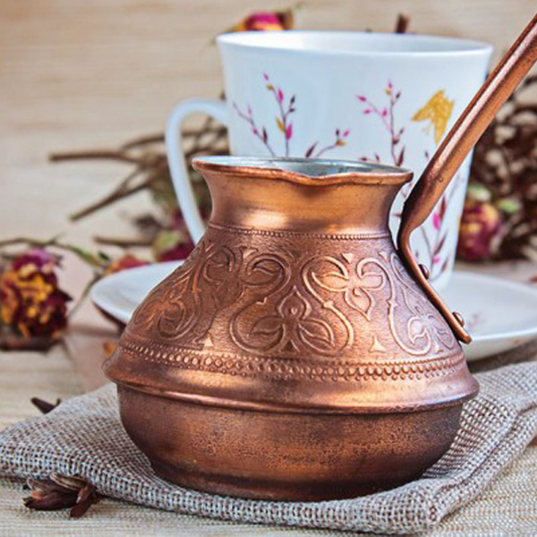 Copper Drinking Vessels