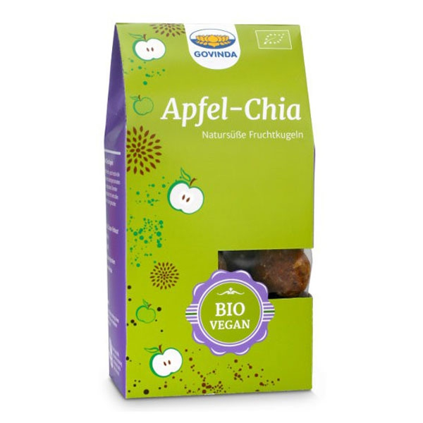 Organic Apple Chia Balls