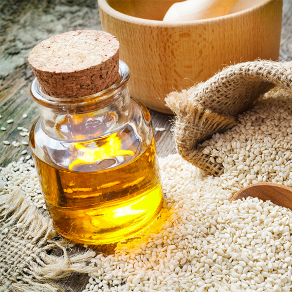 Enhance the benefits of your Ayurvedic daily massage with our specially ripened sesame oil